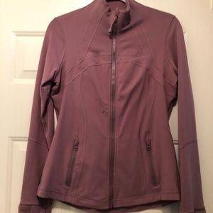 Lululemon Pink Define Jacket Size 10